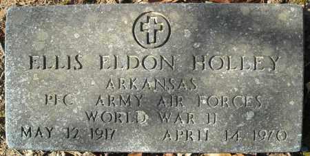 HOLLEY (VETERAN WWII), ELLIS ELDON - Faulkner County, Arkansas | ELLIS ELDON HOLLEY (VETERAN WWII) - Arkansas Gravestone Photos