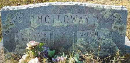 HOLLOWAY, EVIE JANE - Faulkner County, Arkansas | EVIE JANE HOLLOWAY - Arkansas Gravestone Photos