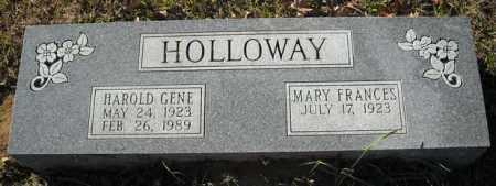 HOLLOWAY, HAROLD GENE - Faulkner County, Arkansas | HAROLD GENE HOLLOWAY - Arkansas Gravestone Photos