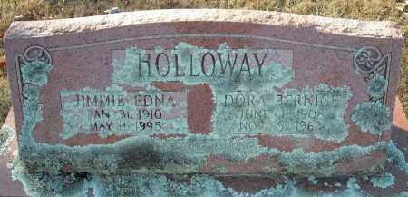 HOLLOWAY, JIMMIE EDNA - Faulkner County, Arkansas | JIMMIE EDNA HOLLOWAY - Arkansas Gravestone Photos
