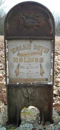 HOLMES, NOLAR RUTH - Faulkner County, Arkansas | NOLAR RUTH HOLMES - Arkansas Gravestone Photos