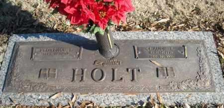 HOLT, CLAUDE L. - Faulkner County, Arkansas   CLAUDE L. HOLT - Arkansas Gravestone Photos