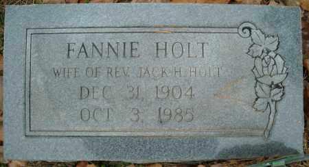 HOLT, FANNIE - Faulkner County, Arkansas | FANNIE HOLT - Arkansas Gravestone Photos