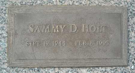 HOLT, SAMMY D. - Faulkner County, Arkansas | SAMMY D. HOLT - Arkansas Gravestone Photos