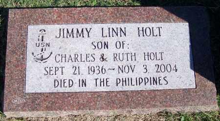 HOLT (VETERAN), JIMMY LINN - Faulkner County, Arkansas | JIMMY LINN HOLT (VETERAN) - Arkansas Gravestone Photos