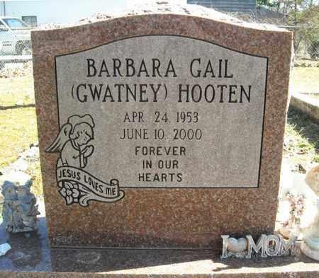 GWATNEY HOOTEN, BARBARA GAIL - Faulkner County, Arkansas | BARBARA GAIL GWATNEY HOOTEN - Arkansas Gravestone Photos
