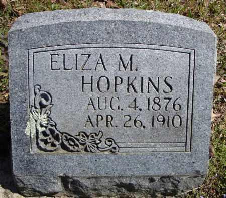 HOPKINS, ELIZA M. - Faulkner County, Arkansas | ELIZA M. HOPKINS - Arkansas Gravestone Photos