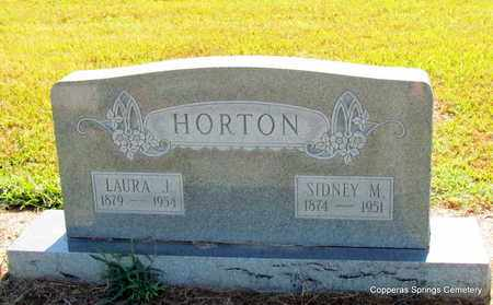 HORTON, LAURA J. - Faulkner County, Arkansas | LAURA J. HORTON - Arkansas Gravestone Photos