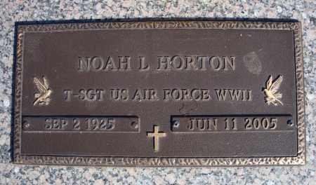 HORTON (VETERAN WWII), NOAH L - Faulkner County, Arkansas | NOAH L HORTON (VETERAN WWII) - Arkansas Gravestone Photos