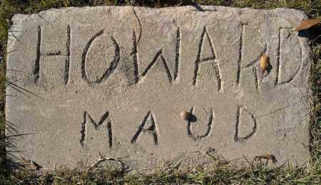 HOWARD, MAUD - Faulkner County, Arkansas   MAUD HOWARD - Arkansas Gravestone Photos