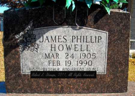 HOWELL, JAMES PHILLIP - Faulkner County, Arkansas   JAMES PHILLIP HOWELL - Arkansas Gravestone Photos