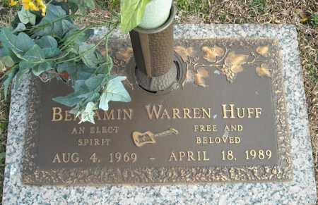 HUFF, BENJAMIN WARREN - Faulkner County, Arkansas | BENJAMIN WARREN HUFF - Arkansas Gravestone Photos