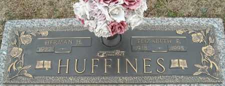 HUFFINES, ELIZABETH E. - Faulkner County, Arkansas | ELIZABETH E. HUFFINES - Arkansas Gravestone Photos