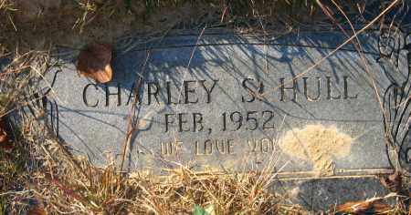 HULL, CHARLEY S. - Faulkner County, Arkansas | CHARLEY S. HULL - Arkansas Gravestone Photos