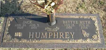 HUMPHREY, JACK - Faulkner County, Arkansas | JACK HUMPHREY - Arkansas Gravestone Photos