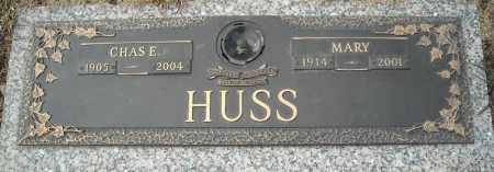 HUSS, CHARLES E. - Faulkner County, Arkansas   CHARLES E. HUSS - Arkansas Gravestone Photos