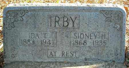 IRBY, IDA T. - Faulkner County, Arkansas | IDA T. IRBY - Arkansas Gravestone Photos