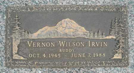 IRVIN, VERNON WILSON - Faulkner County, Arkansas   VERNON WILSON IRVIN - Arkansas Gravestone Photos
