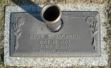JACKSON, RUBY T. - Faulkner County, Arkansas | RUBY T. JACKSON - Arkansas Gravestone Photos