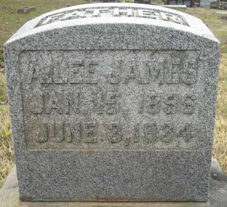 JAMES, ALBERT LEE - Faulkner County, Arkansas | ALBERT LEE JAMES - Arkansas Gravestone Photos