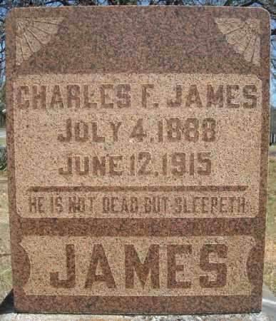 JAMES, CHARLES F. - Faulkner County, Arkansas | CHARLES F. JAMES - Arkansas Gravestone Photos