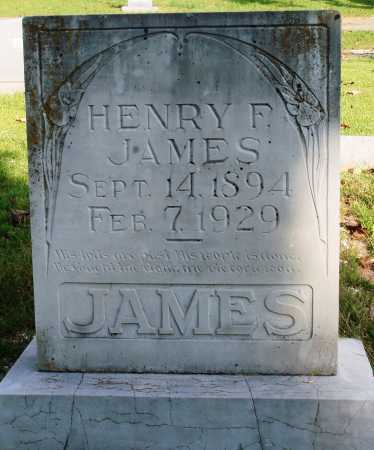 JAMES, HENRY F. - Faulkner County, Arkansas | HENRY F. JAMES - Arkansas Gravestone Photos