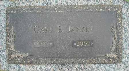 JANSKI, CARL E. - Faulkner County, Arkansas   CARL E. JANSKI - Arkansas Gravestone Photos