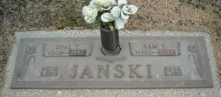 JANSKI, OPAL T. - Faulkner County, Arkansas | OPAL T. JANSKI - Arkansas Gravestone Photos