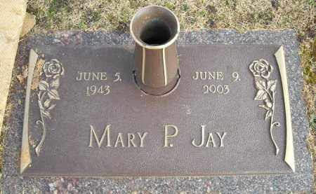 JAY, MARY P. - Faulkner County, Arkansas | MARY P. JAY - Arkansas Gravestone Photos