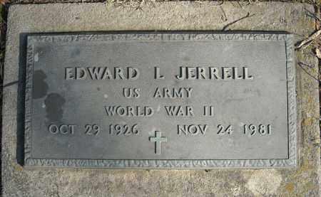 JERRELL (VETERAN WWII), EDWARD L - Faulkner County, Arkansas   EDWARD L JERRELL (VETERAN WWII) - Arkansas Gravestone Photos