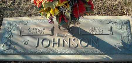 JOHNSON, ARTHUR F. - Faulkner County, Arkansas | ARTHUR F. JOHNSON - Arkansas Gravestone Photos