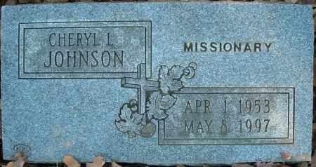 JOHNSON, CHERYL L. - Faulkner County, Arkansas | CHERYL L. JOHNSON - Arkansas Gravestone Photos