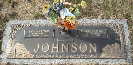 JOHNSON, MAGGIE MAE - Faulkner County, Arkansas | MAGGIE MAE JOHNSON - Arkansas Gravestone Photos
