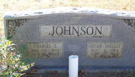 JOHNSON, CHARLES E. - Faulkner County, Arkansas | CHARLES E. JOHNSON - Arkansas Gravestone Photos