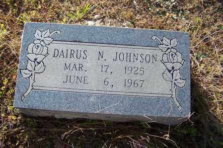 JOHNSON, DARIUS N. - Faulkner County, Arkansas   DARIUS N. JOHNSON - Arkansas Gravestone Photos