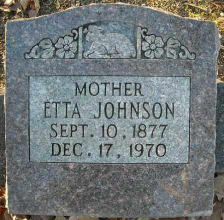JOHNSON, ETTA - Faulkner County, Arkansas | ETTA JOHNSON - Arkansas Gravestone Photos