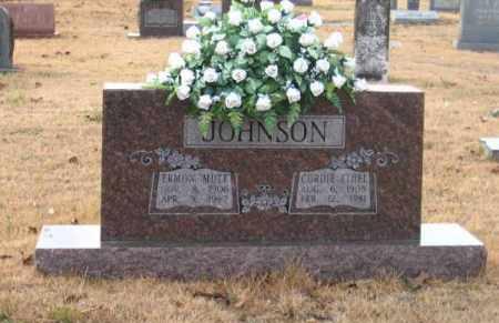 JOHNSON, ERMON MUTT - Faulkner County, Arkansas   ERMON MUTT JOHNSON - Arkansas Gravestone Photos