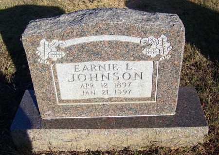 JOHNSON, EARNIE L. - Faulkner County, Arkansas   EARNIE L. JOHNSON - Arkansas Gravestone Photos