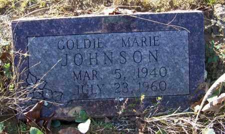 JOHNSON, GOLDIE MARIE - Faulkner County, Arkansas | GOLDIE MARIE JOHNSON - Arkansas Gravestone Photos