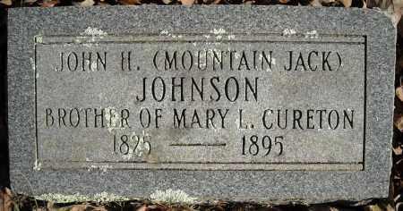 JOHNSON, JOHN H. - Faulkner County, Arkansas | JOHN H. JOHNSON - Arkansas Gravestone Photos
