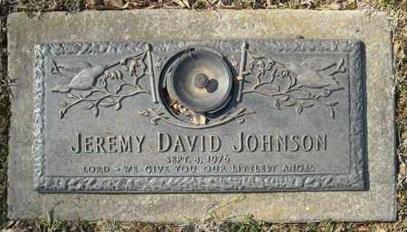 JOHNSON, JEREMY DAVID - Faulkner County, Arkansas | JEREMY DAVID JOHNSON - Arkansas Gravestone Photos