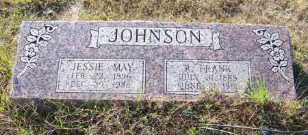 JOHNSON, R. FRANK - Faulkner County, Arkansas | R. FRANK JOHNSON - Arkansas Gravestone Photos