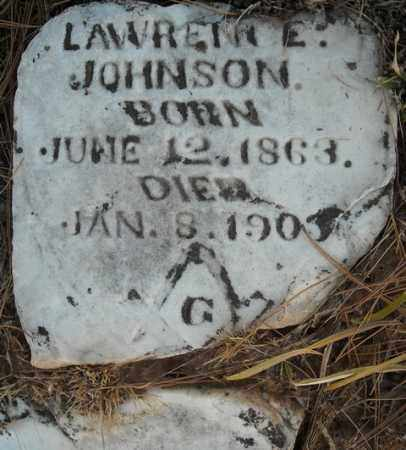 JOHNSON, LAWRENCE - Faulkner County, Arkansas | LAWRENCE JOHNSON - Arkansas Gravestone Photos