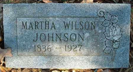 JOHNSON, MARTHA - Faulkner County, Arkansas | MARTHA JOHNSON - Arkansas Gravestone Photos