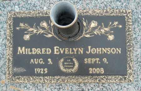 JOHNSON, MILDRED EVELYN - Faulkner County, Arkansas   MILDRED EVELYN JOHNSON - Arkansas Gravestone Photos