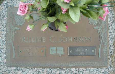 JOHNSON, RULINE C. - Faulkner County, Arkansas   RULINE C. JOHNSON - Arkansas Gravestone Photos