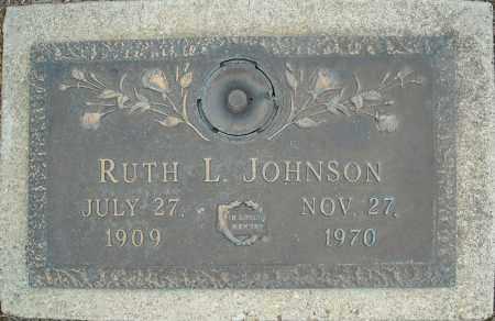 JOHNSON, RUTH L. - Faulkner County, Arkansas | RUTH L. JOHNSON - Arkansas Gravestone Photos