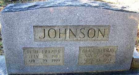 JOHNSON, RUTH - Faulkner County, Arkansas | RUTH JOHNSON - Arkansas Gravestone Photos