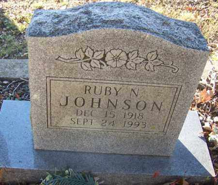JOHNSON, RUBY N. - Faulkner County, Arkansas | RUBY N. JOHNSON - Arkansas Gravestone Photos