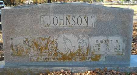 JOHNSON, ROY A. - Faulkner County, Arkansas | ROY A. JOHNSON - Arkansas Gravestone Photos